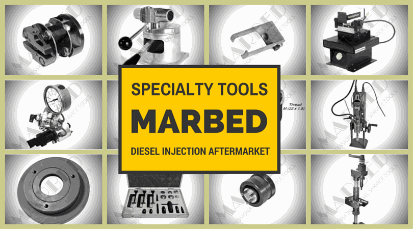 Marbed Specialty diesel tools for the diesel injection aftermarket