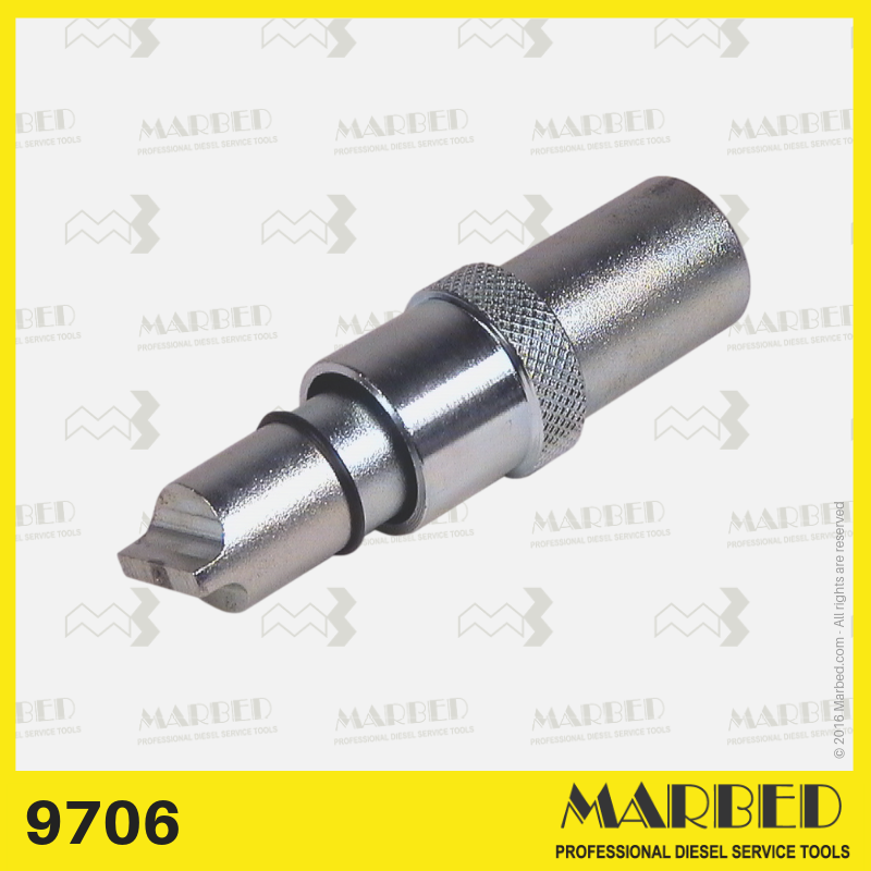 Blade-type socket wrench with guide, for governors. Similar to Bosch 0 986 611 453, KDEP 2988.