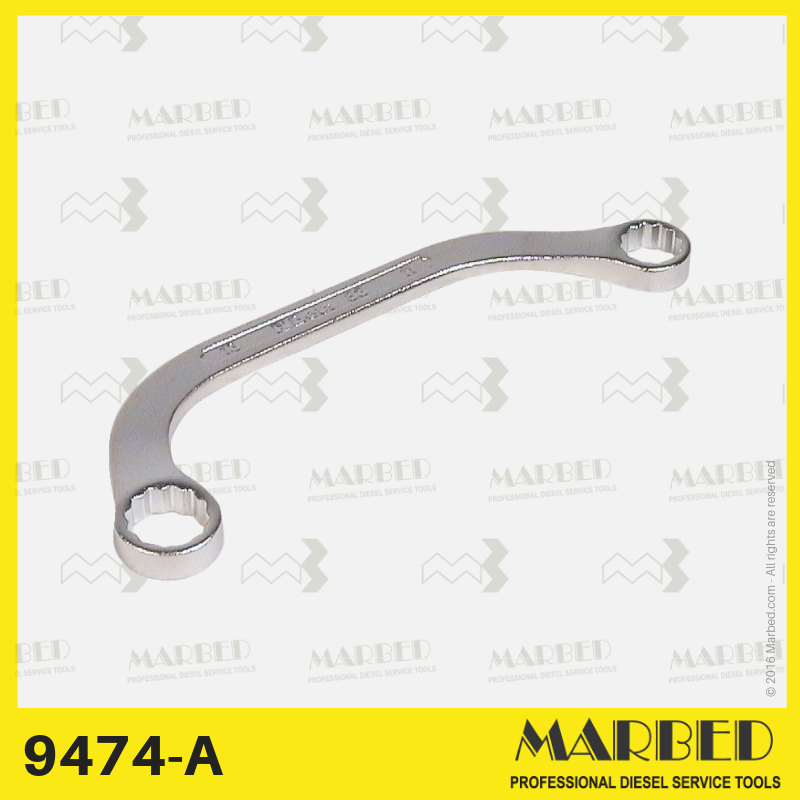 13 mm shaped spanner to remove the diesel fuel pump on Volkswagen Golf.