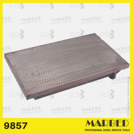 Ground surface plate